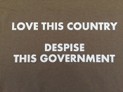 "9 T-Shirt ""Love This Country"""